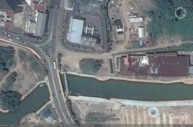 Tourist belt warehouse along melaka river