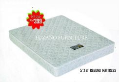 Queen size rebond mattress (REBOND-5'x8'')21/6