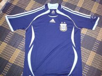 Argentina 2006 away jersey S