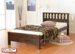 2nd Hand Super Single wood Bed Frame
