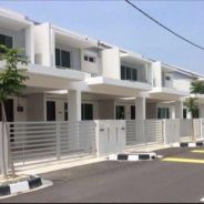 [0%D/P](RM1k booking fee)freehold 2 22x75storey house