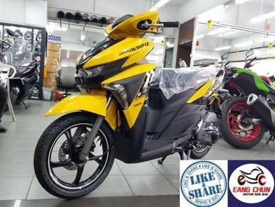 2018 Yamaha Ego Avantiz Happy2 Beli Kini 0% GST