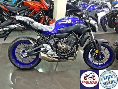 Yamaha mt07 Mt 07 Promosi Panas Kini GST 0%