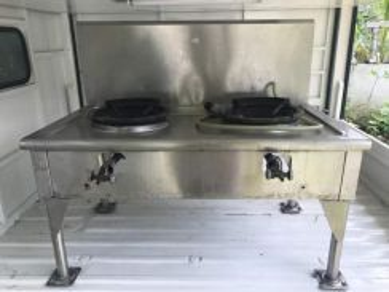Dapur dan Stall - Stainless Steel