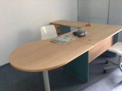 Office Table, Partition, 1st Floor Shop Lot, Semabok