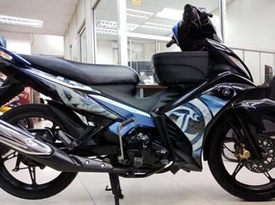 Yamaha 135LC V2 Prestasi Unggul Motor Cantik