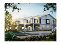 Affordable New Double Storey Terrace House at Seremban New Town