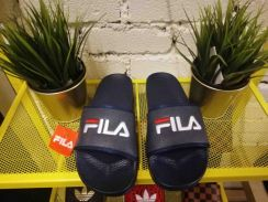 FILA Vintage Design Dark Blue Color Slipper Sandal