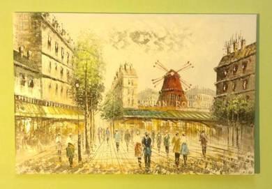 Original handmade oil painting code A18