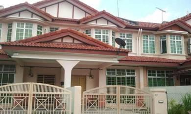 2 Sty Terrace Tmn Tunas Damai Sungai Tiram Near Heng Ee & Airport