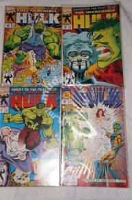 INCREDIBLE HULK issue 397-400. Ghost of the Past