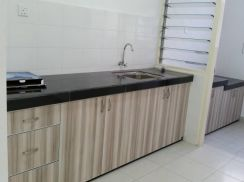 Seri Baiduri Apartment Setia Alam (Kitchen Cabniet)