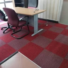 Karpet tile colour baru