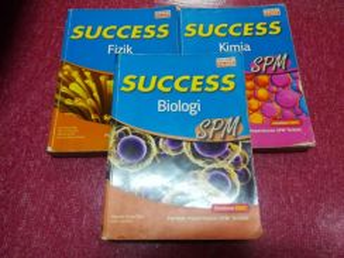 Success spm fizik, bio dan kimia
