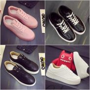 7828 Korean Version Muffin Lace Shoes(size 35,38)