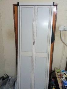 Pintu aluminium lipat utk blk air