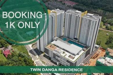 Twin danga apartment ready to move in