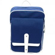 0171 Blue Retro British Style Laptop Bag Backpack