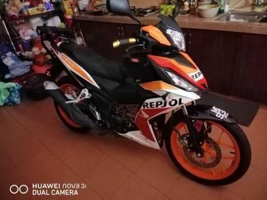 Motosikal Rs150 untuk dijual