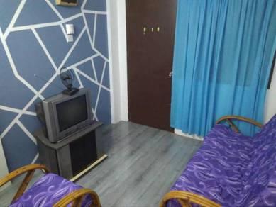 Bilik Sewa MUSLIM Apartment PKNS Free Wifi & Fully Furnish
