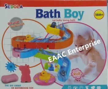 Baby Bath Bathroom Toys with Wall Sucking Orbit