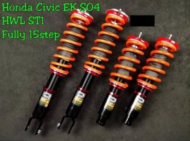 Hwl ST1 Fully Adjustable Suspension Honda Civic EK