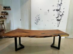 Skov Wood Slab- Live Edge Dining Table