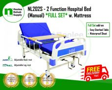 Katil Hospital 2 Fungsi (Manual) SET