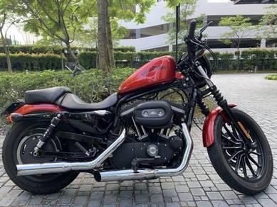 Motorcycle harley davidson iron 883 (12/16)