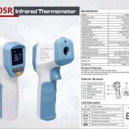 Uni-T Forehead thermometer