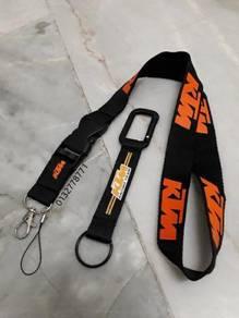 KTM lanyard keychain hook