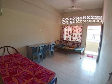 Single & Double room dekat HTJ/MAWAR/KK