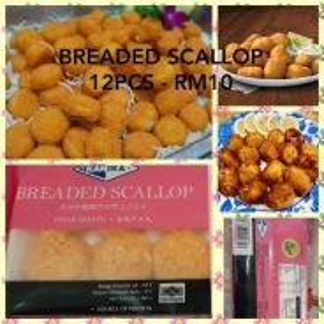 Premium Breaded scallop 12 pcs