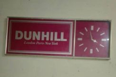 Dunhill wall clock
