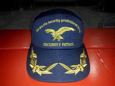 Security patrol trucker cap