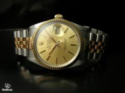 Rolex 16013 Oys Perpetual Datejust With Cert Rare
