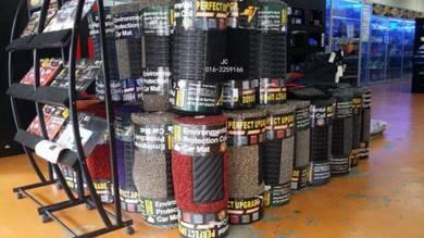 Carpet 18mm anti slip hi-quality coil mat