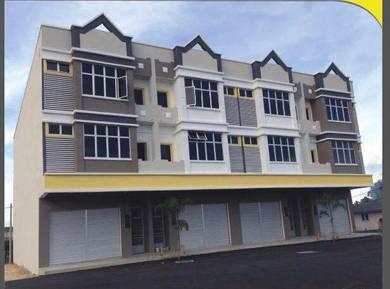 LAST 2 unit rumah/kedai MODERN DESIGN di Chendering