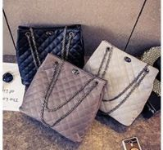 Tote bag convertible to sling bag PU material