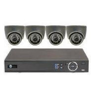 4CH HD 720P CVI AHD CCTV Security Camera KIT
