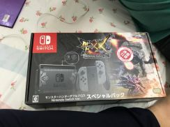 Nintendo switch monster hunter special edition