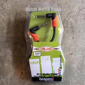 Bespeco SLPP015X3 Guitar Effect Patch Cable 3pcs