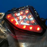 Kawasaki ER6N/F Integerated Tail Light with signal