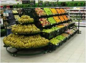 KEDAH Rak Sayur,Vegetable Rack,Rak gondola