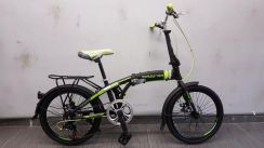 Bicycle marsstar folding 20er 7sp al d/br ylw