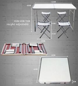 New Portable Foldable Aluminium Table Camping Nice