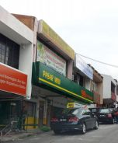 2 units of Freehold Double-storey Shop in Sri Gombak