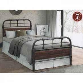 Verona Metal/Wood Single Bed