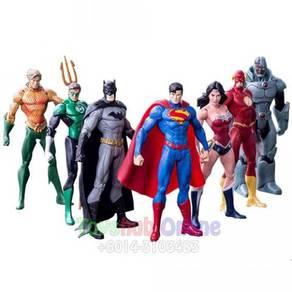 TV Superhero Justice League PVC Figures 15cm