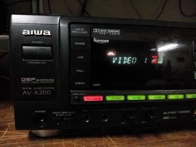 AIWA AV-X200 - AV receiver